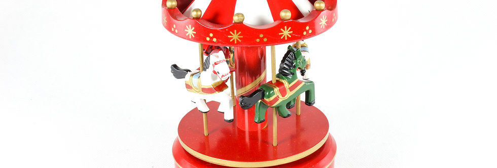 Carousel Music Box With Light