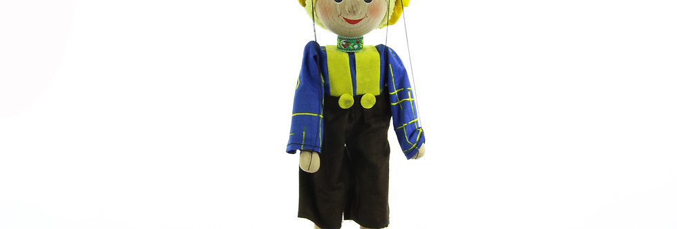 Wooden Puppet Boy