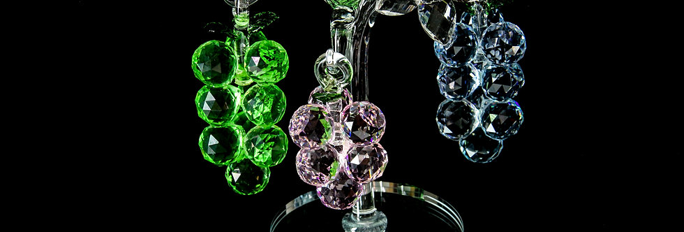 Decorative Crystal - Grape Tree