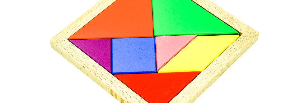 Tangram Puzzle Jigsaw Puzzle