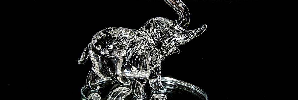 Decorative Crystal - Elephant (Large)