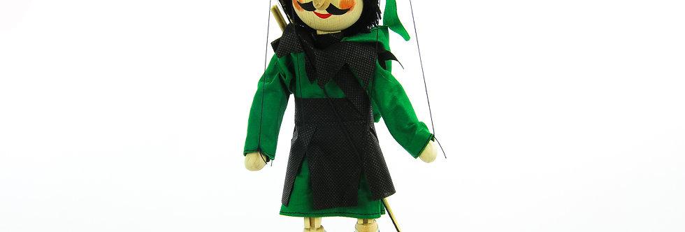 Wooden Puppet Robin Hood