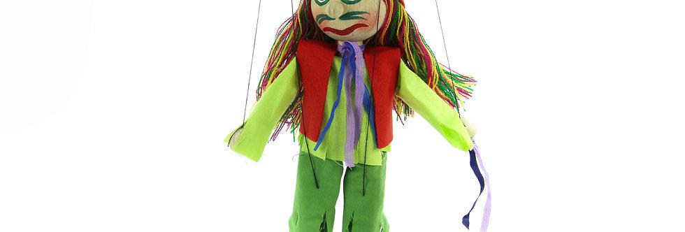 Wooden Puppet Vodnik