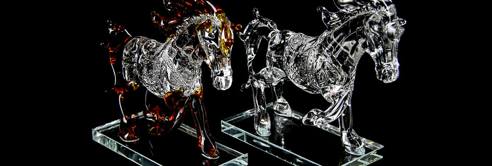 Decorative Crystal - Horse
