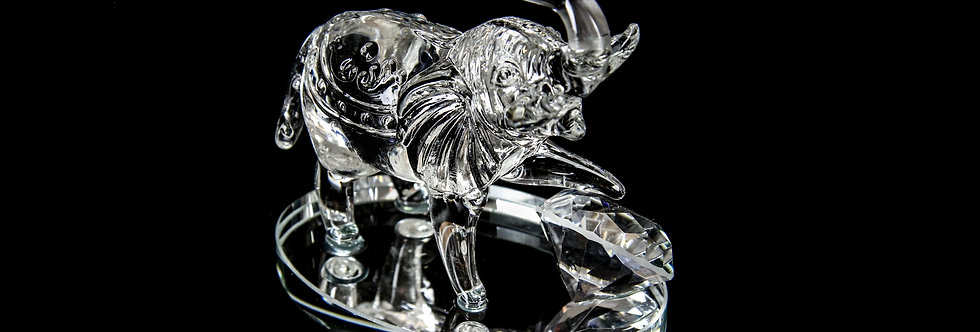 Decorative Crystal - Elephant (Medium)
