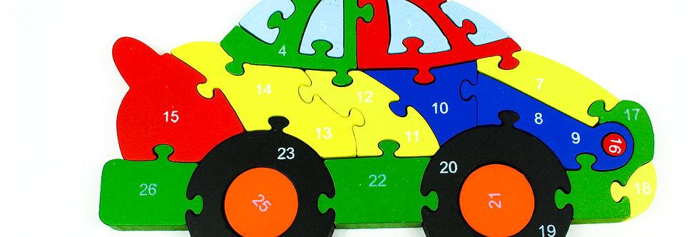 Puzzle Race Car