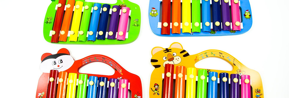 Wooden animals xylophone
