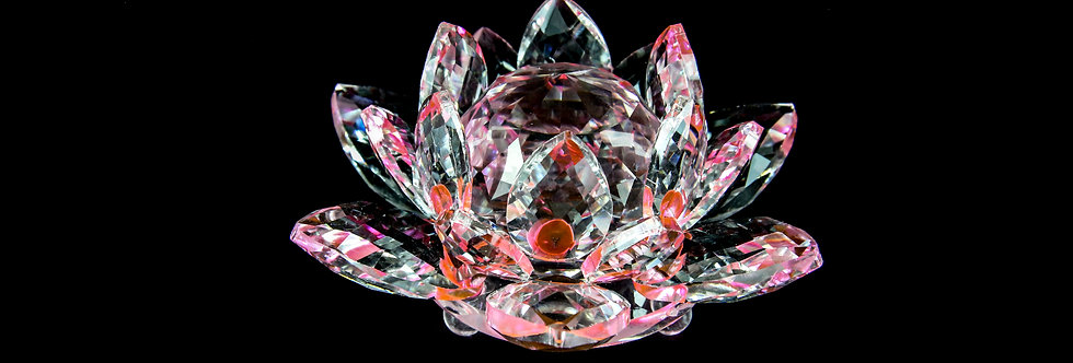 Decorative Crystal - Lotus Flower (Medium)