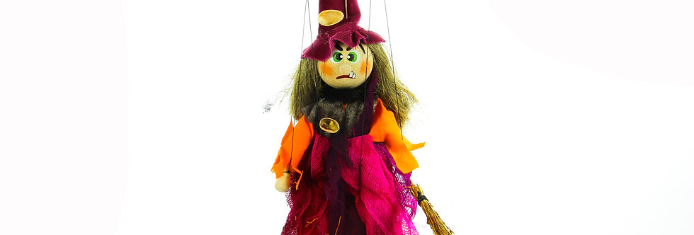 Wooden Puppet Witch