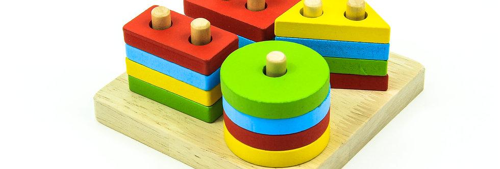Wooden Educational Preschool Shape