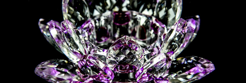 Decorative Crystal - Lotus Flower (Large)