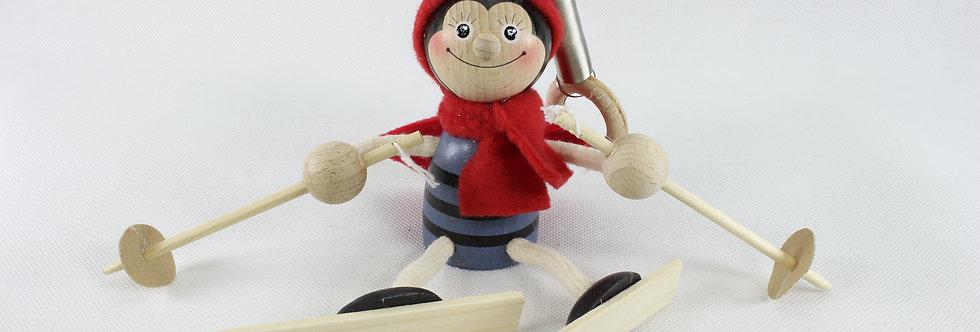 Normal - Skiing Ladybug Boy