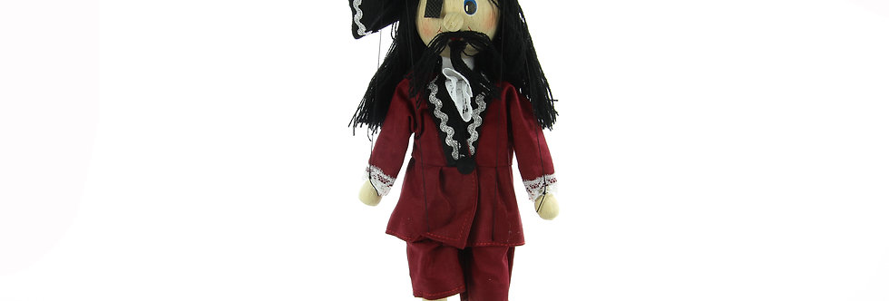 Wooden Puppet Pirate