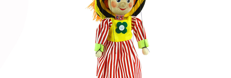 Wooden Puppet Girl