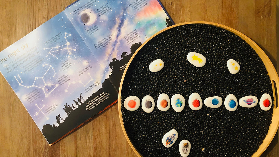 Space Story Stones