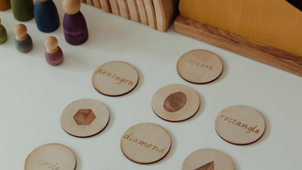 Shape Recognition Discs