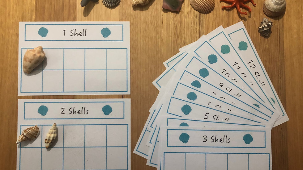 Counting Boxes 1 - 12