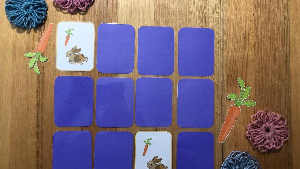 Memory Game - Bunny