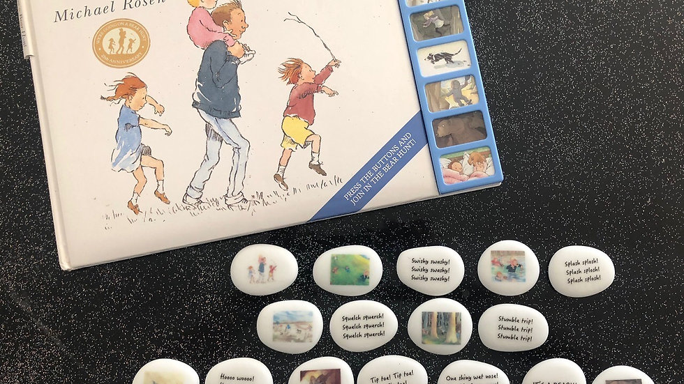Going On A Bear Hunt - Story Stones