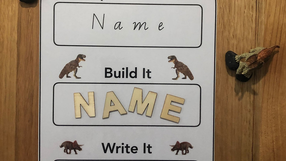 Name Recognition - Dinosaur