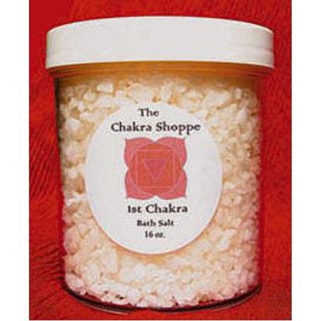 1st Chakra Balancing Salts