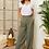 Thumbnail: Pantalon large en lin - 99743