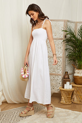 Robe longue à bretelles - 99708