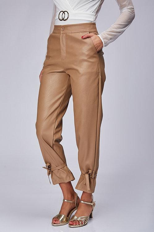 Pantalon en cuire