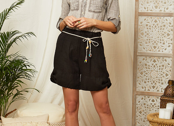 Short court en lin - 2171
