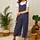 Thumbnail: Pantalon salopette Dalia fluide 9251 - 9451