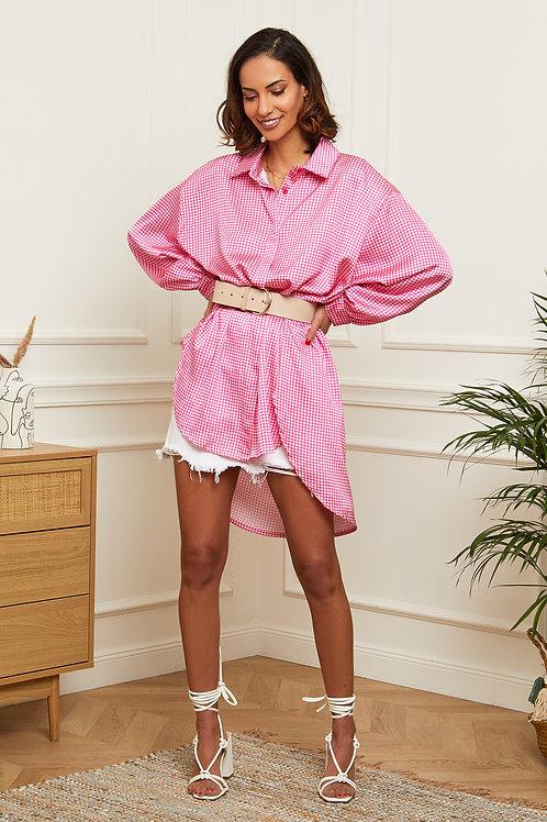Tunique chemise oversize