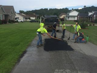 City Crews to begin patching potholes