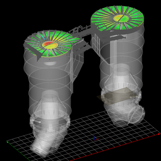 Structural measurement, Asia. Determine deformation and temperature gradient with Amann 3D Thermal Laser Scan.  Elaboration of structural reinforcement methodology.
