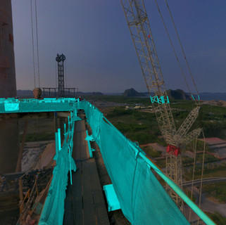 Preheater tower retrofitting, Vietnam. Support on methodology for the replacement of Top Cyclones.