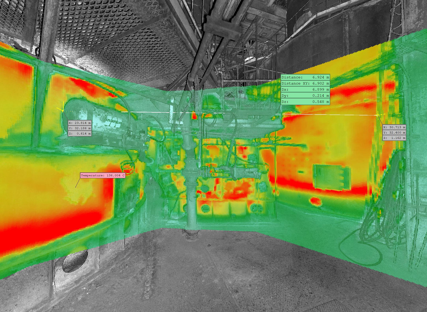 3D Thermal imaging at your facilities