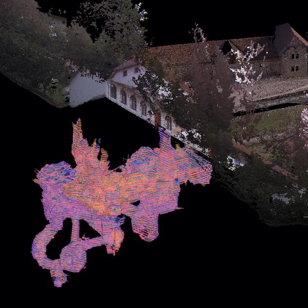 Volume measurement and cartoigraphy, Switzerland