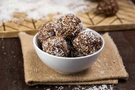 Chocolate Pistachio Maca Energy Balls