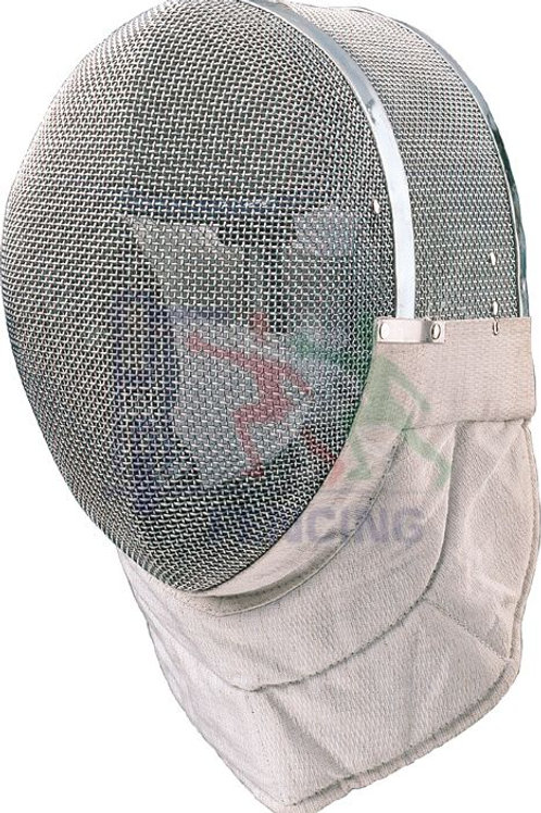 Electric Sabre Mask Evolution non FIE Inox Mesh with White Inox Bib
