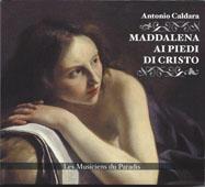 Maddalena ai piedi di Cristo | Caldara