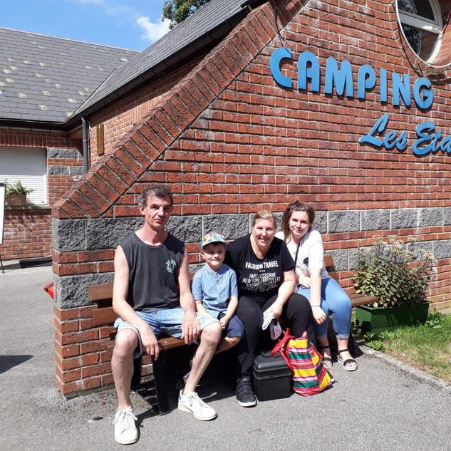 Accueil au camping de Fourmies