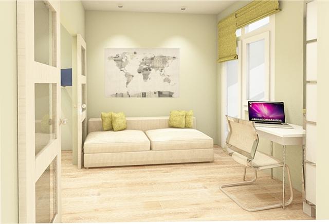 гостиная зона вид 4
