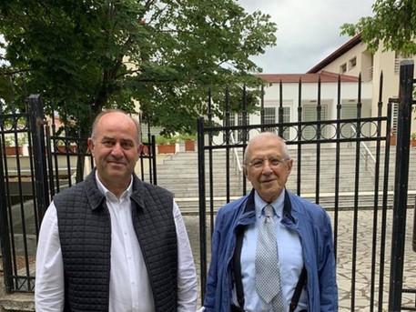 Συνάντηση με τον κ. Δημήτρη Παντερμαλή, Πρόεδρο του Μουσείου της Ακρόπολης