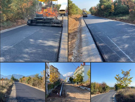 Ασφαλτοστρώσεις αστικών και αγροτικών δρόμων στη Δ.Ε. Δίου