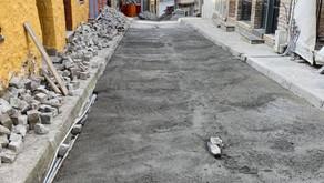 """Εργασίες συντήρησης & ανακατασκευής κεντρικού δρόμου Λιτοχώρου (πλατεία προς """"Παζάρι"""")"""