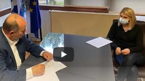 Συνέντευξη εφ' όλης της ύλης στη δημοσιογράφο Ελίνα Διαμαντοπούλου (olympusmera.gr)