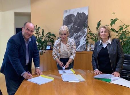 Υπογραφή συμβάσεων έργου από το Δήμο Δίου-Ολύμπου και την Πιερική Αναπτυξιακή