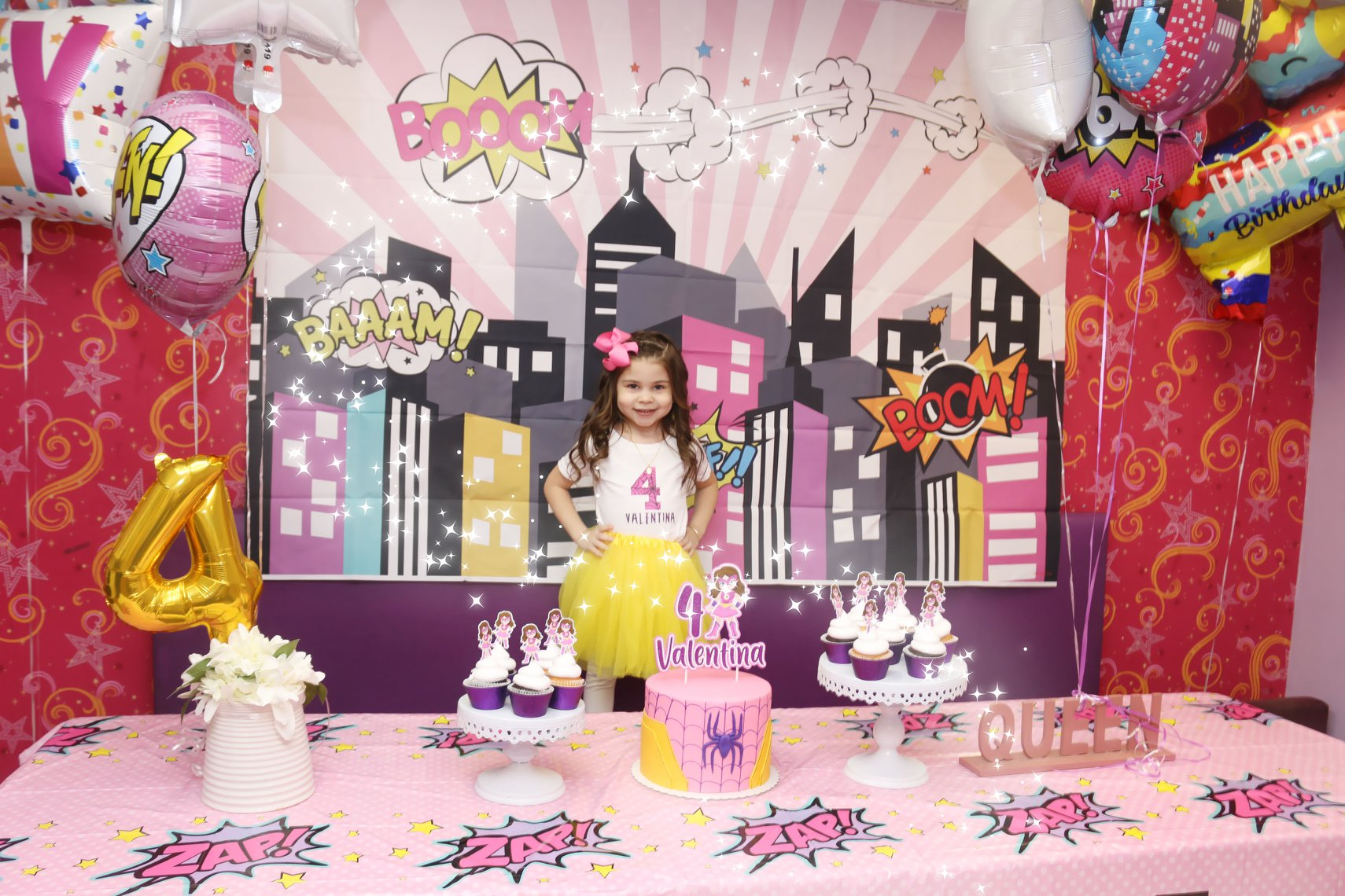 Spider Girl Birthday Party