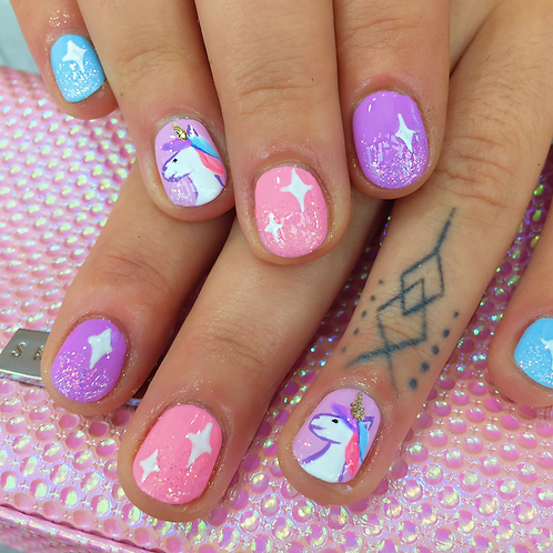Unicorn Party Art & Nails: July 26 (Thursday)