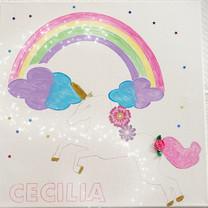 Unicorn Rainbow Art