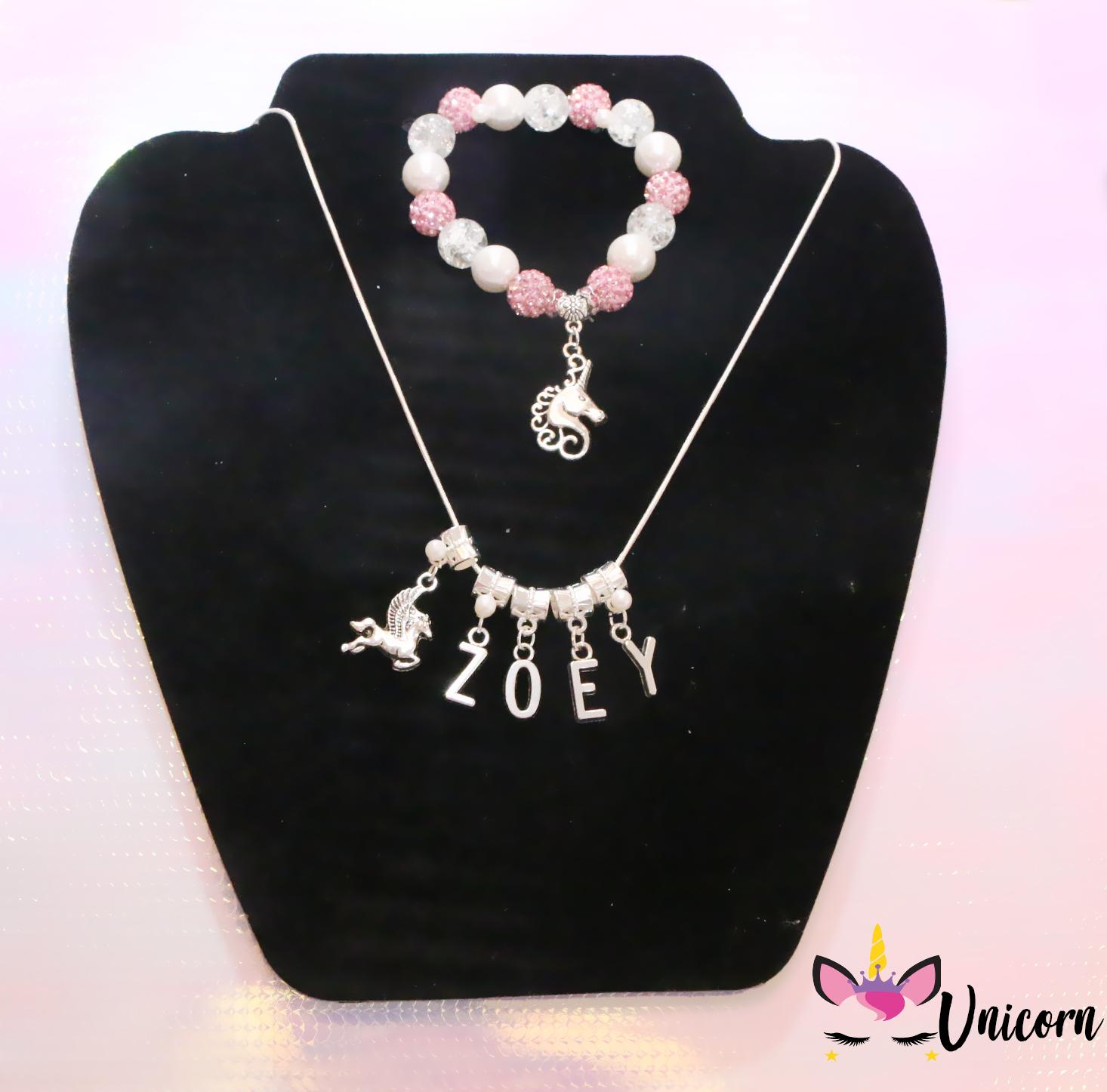 Unicorn Jewelry Set